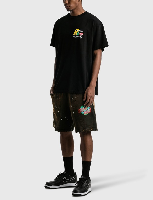 Real Bad Man Never Not Open T-shirt Black Men