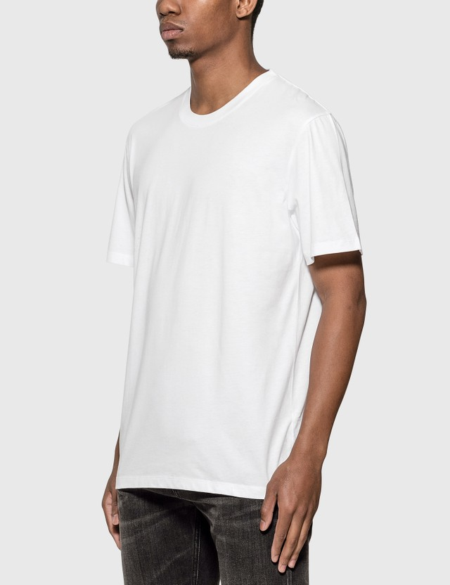 Maison Margiela 3 Pack T-Shirt White-off White- Cream Men