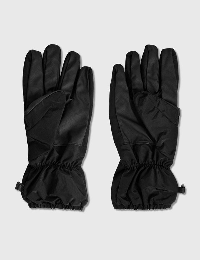 Stone Island Nylon Metal Gloves Nero Men