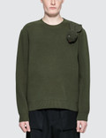 JW Anderson Bunny Brooch Crew Neck Picture