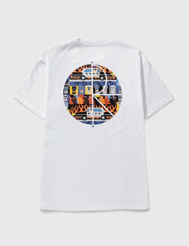 Polar Skate Co. Acab Fill Logo T-shirt White Men