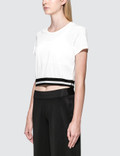 Calvin Klein Performance Stripe Hem Crop Top