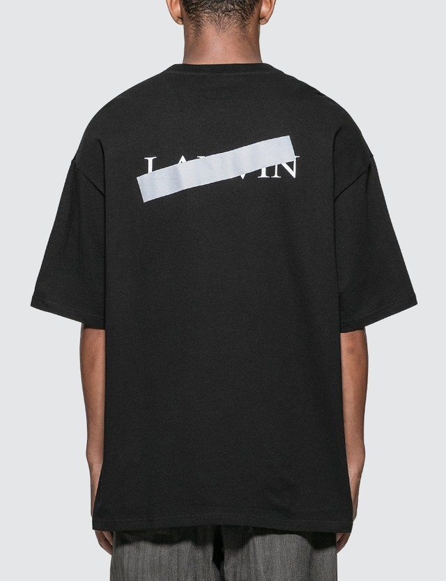 Lanvin Lanvin Bar Print T-Shirt