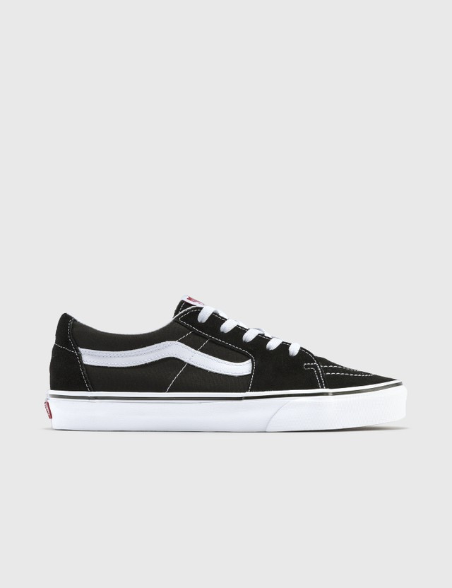 Vans SK8-Low Black/true White Women
