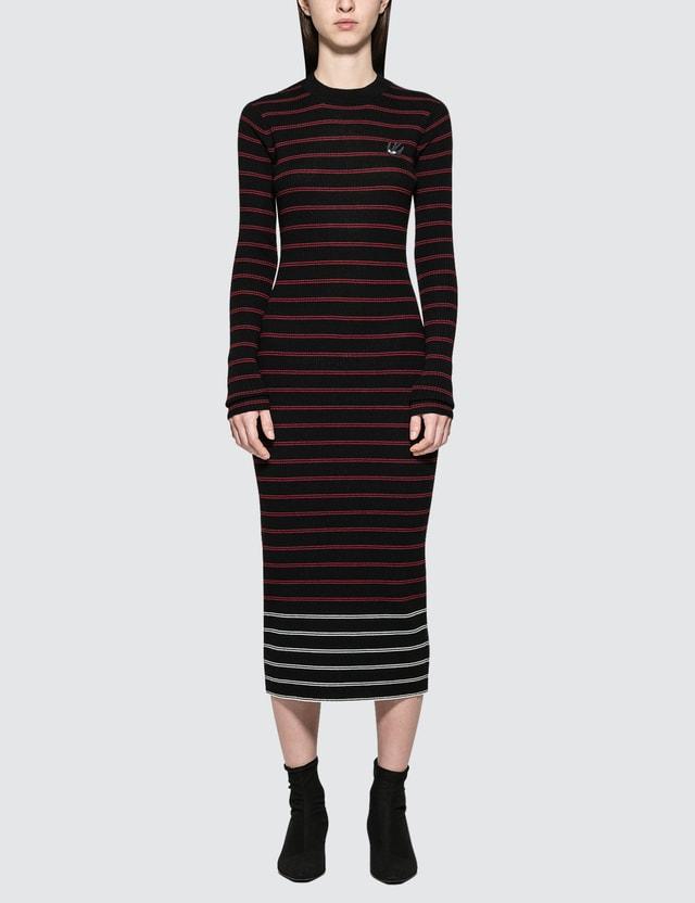 McQ Alexander McQueen Sw Striped Dress