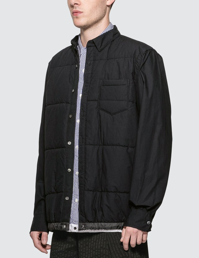 Sacai Cotton Quilted Shirt