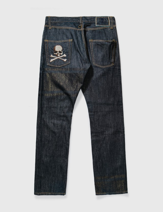 Mastermind Japan Mastermind Japan Gold Glitter Unwashed Jeans Rinse Archives