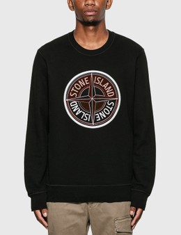 Stone Island Compass Logo Sweatshirt