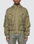 John Elliott Back Sateen Canopy Bomber Jacket Picture