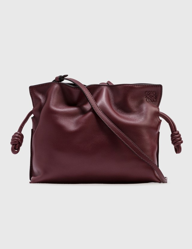 Loewe Mini Flamenco Clutch Malbec Women