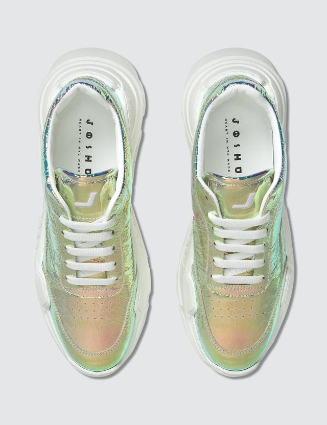 Joshua Sanders Zenith Chunky Sole Sneakers Light Holo Women