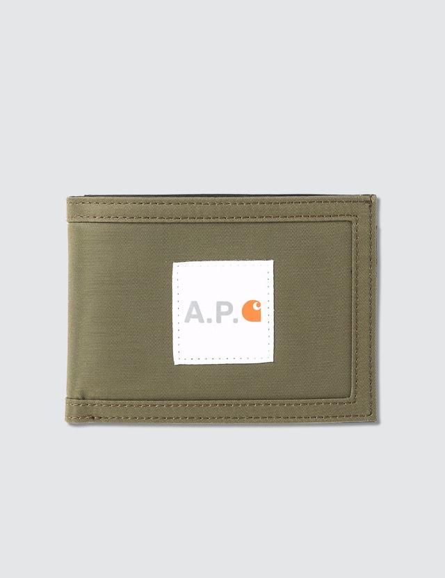 A.P.C. A.P.C. x Carhartt Wallet