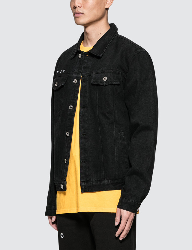 GEO World Office Denim Jacket