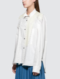 Loewe Lace Trim Asymmetric Shirt