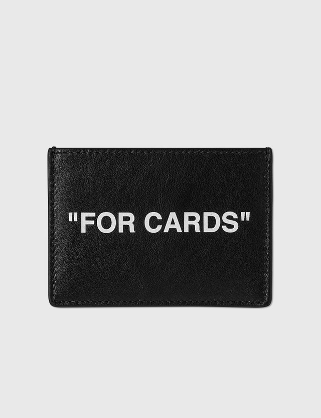 "Off-White ""FOR CARD"" Cardholder Black Men"
