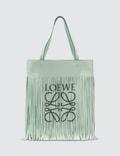 Loewe Vertical Tote Fringe Paula Bag Picture