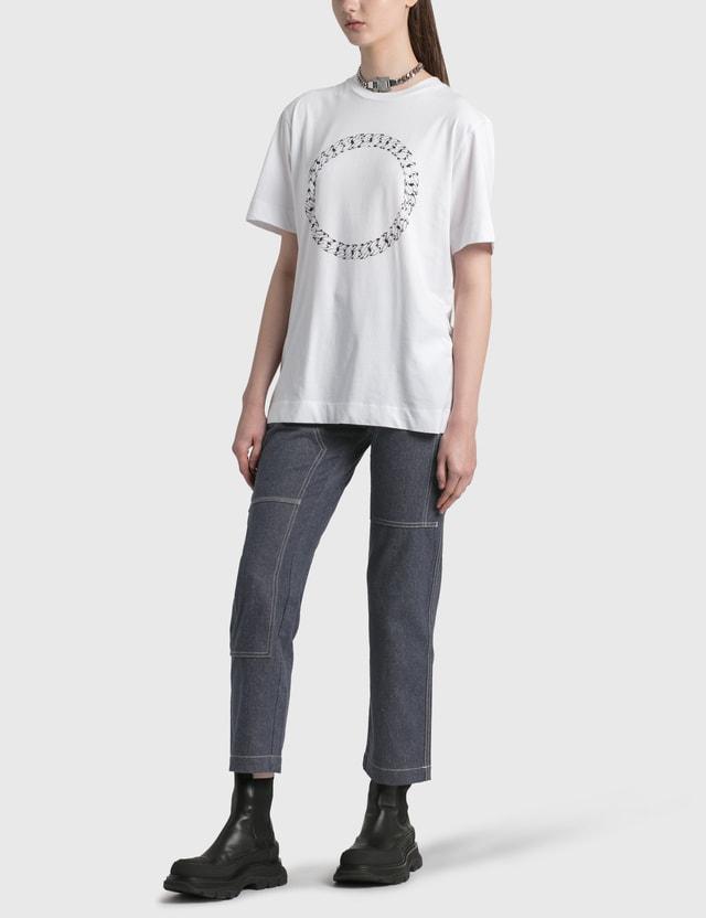 1017 ALYX 9SM Cube Chain T-Shirt White Women