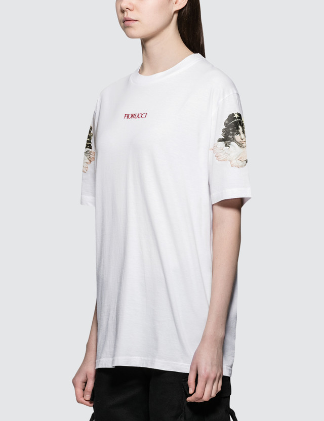 Fiorucci Tania Angels Short Sleeve T-shirt