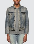 Saint Laurent Distressed Denim Jacket Picture