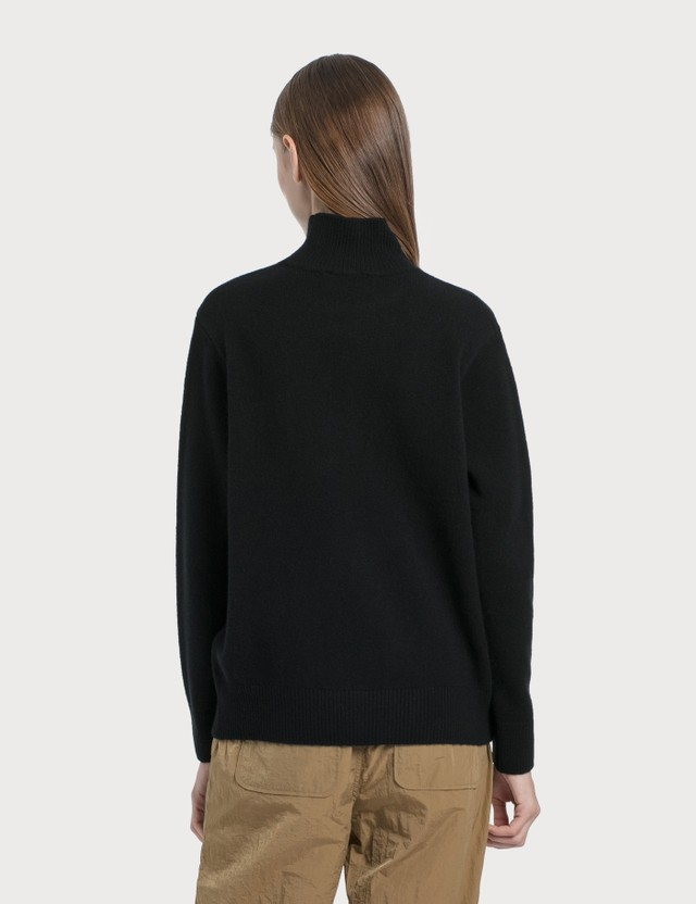 Maison Kitsune Profile Fox Patch High Neck Pullover