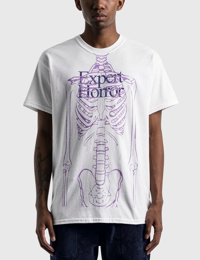 Expert Horror HBX exclusive Skinny Man Core Logo T-Shirt White Men