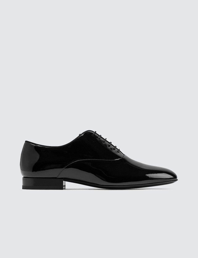 Saint Laurent Smoking Oxford Patent Leather Shoes