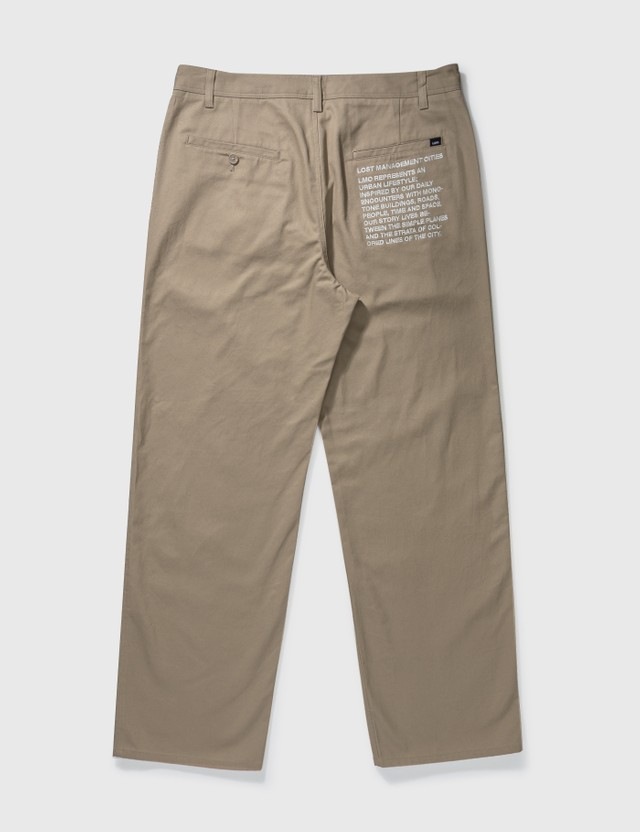 LMC Description Work Pants Beige Men