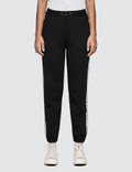 MSGM Ribbed Msgm Logo Track Pants Picture