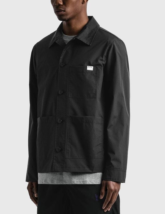 A.P.C. Nathanaël Work Jacket Black Men