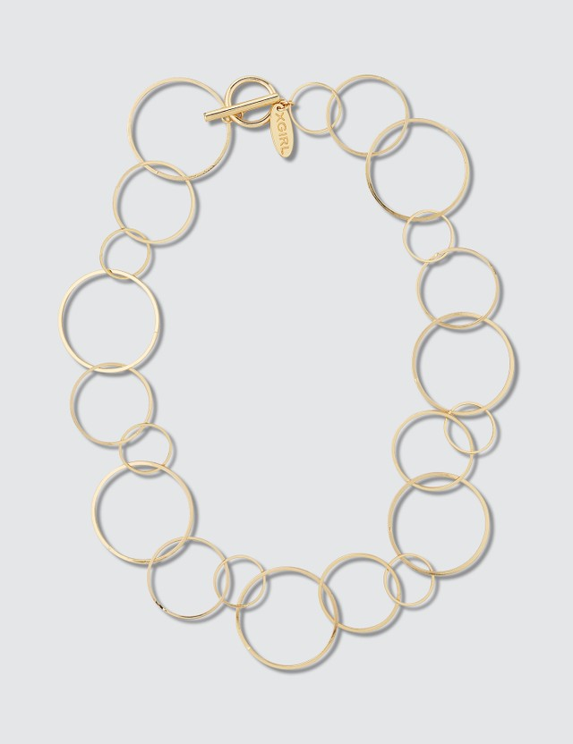 X-Girl Random Ring Necklace