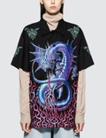 MM6 Maison Margiela Dragon Printed Short Sleeve Shirt Picutre