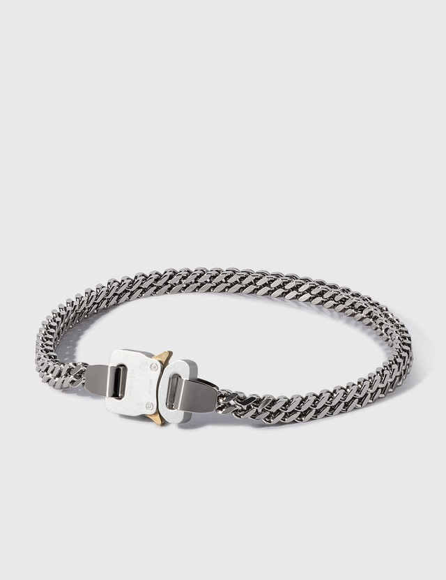 1017 ALYX 9SM Cubix Chain Necklace Silver Men