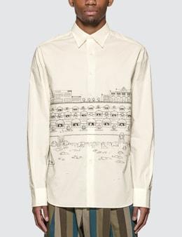 Lanvin Babar Poplin Shirt