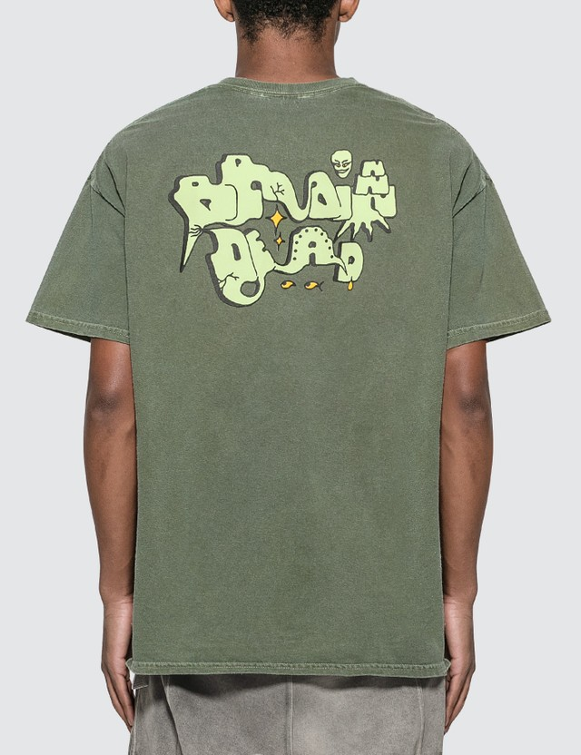 Brain Dead Graffiti Letter T-shirt