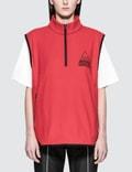 MISCHIEF Fleece Half Zip Vest Picture