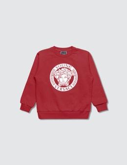 Versace Young Versace Logo Sweatshirt
