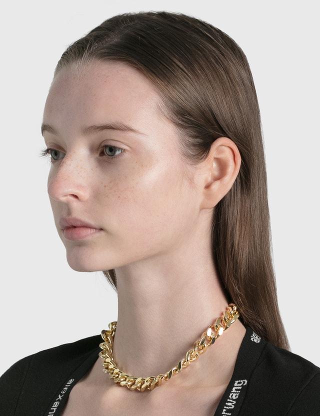 Young Frankk Rainier Chain Choker Gold Plated Women