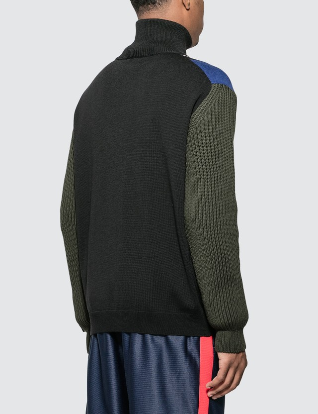 Martine Rose Custom Knitted Sweater Black Men