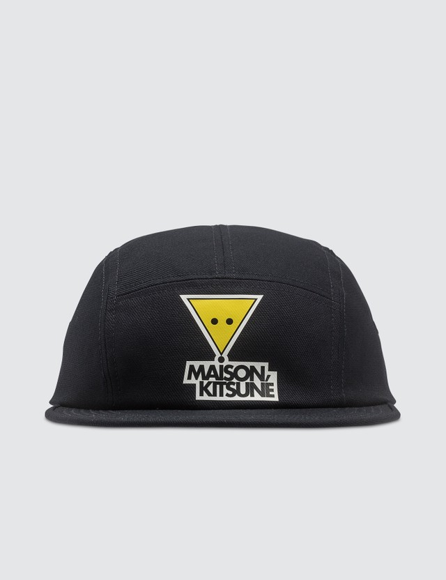Maison Kitsune Triangle Fox Print 5P Cap