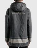 Stone Island Reflective Down Jacket Nero Men