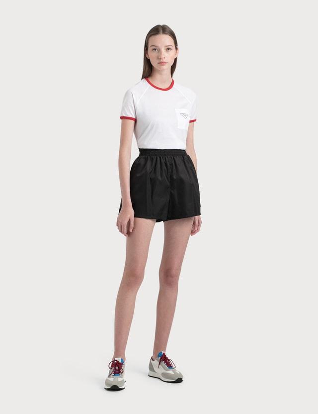 Prada Nylon Shorts