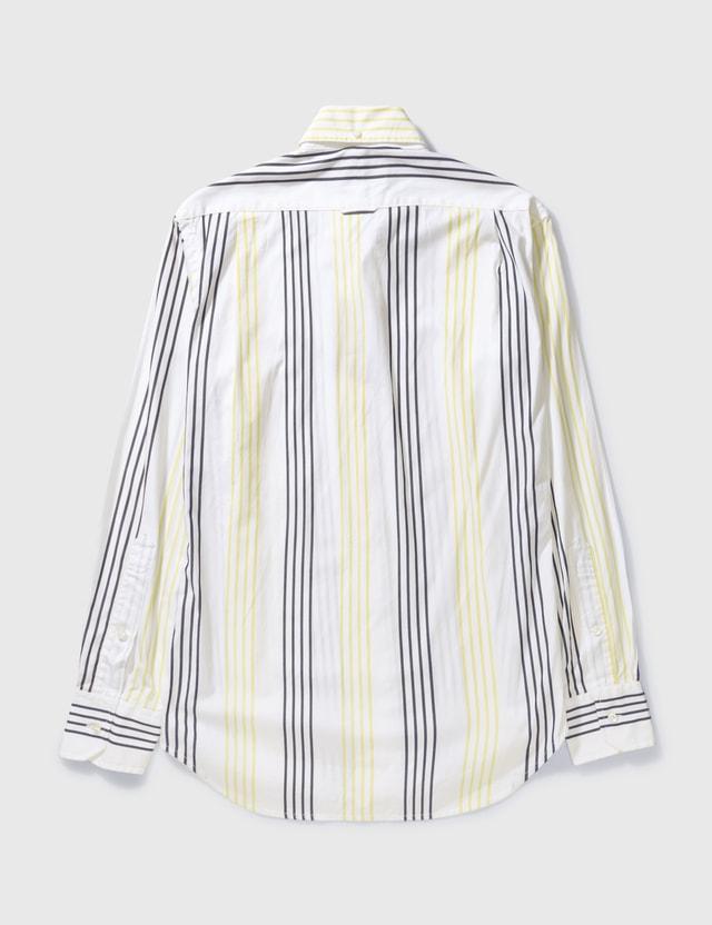 Thom Browne Thom Browne Stripe Shirt White /grey Archives