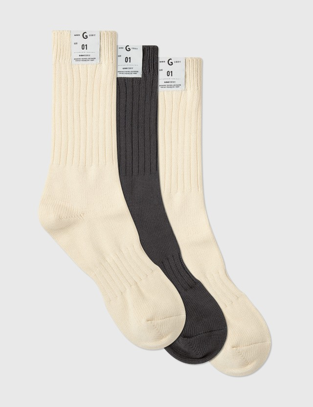 Grocery 3-Pack Socks