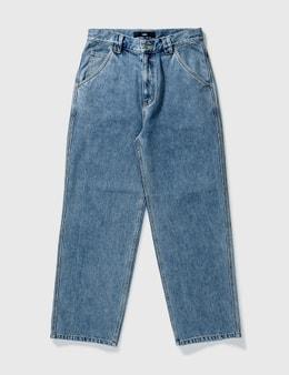 LMC Diamond Stitch Denim Work Pants