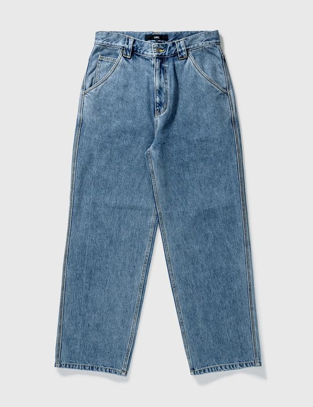 LMC Diamond Stitch Denim Work Pants Denim Men