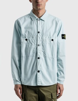Stone Island Double Pocket Button Shirt