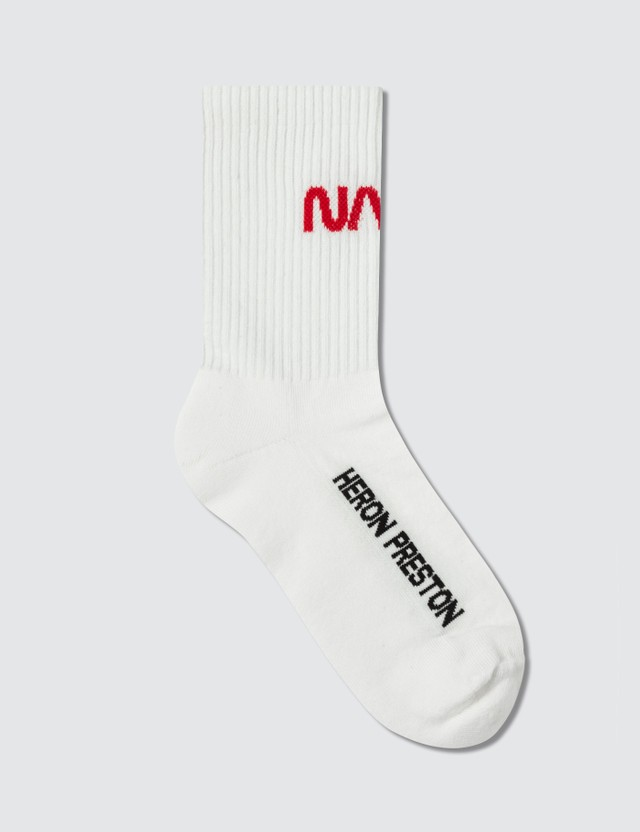 Heron Preston NASA Socks