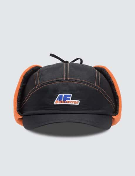 아더 에러 모자 로고 이어플랩 볼캡 Ader Error Truck Logo Earflap Cap