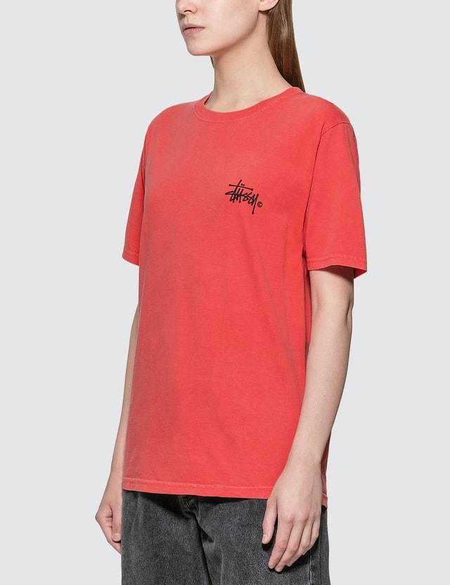 Stussy Basic Logo Pig. Dyed T-shirt