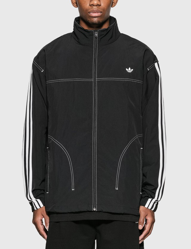 Adidas Originals Summer Three Stripe Jacket Black Men